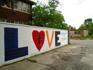 An alley just off 23rd & Butternut in Detroit.
