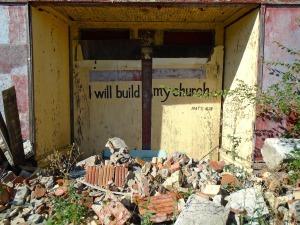 Photo: A Church in Northwest Detroit on Rosa Parks Blvd.