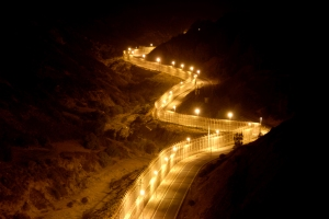 Border at Night