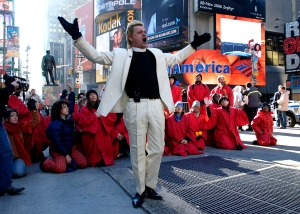 Reverend Billy, Buy Nothing Day NYC 2005