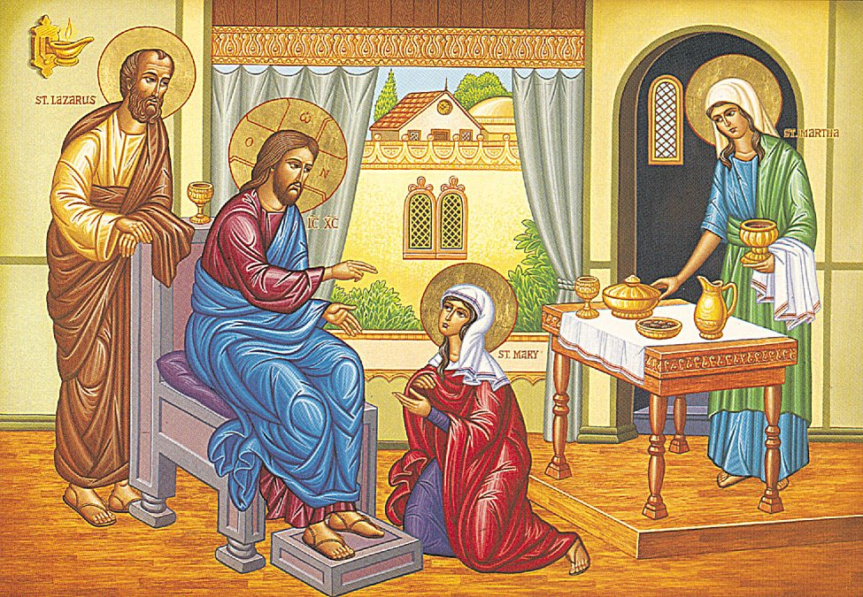 mary and martha examples of discipleship Interpretations of luke 10  i remember hearing a sermon based on the story of mary and martha in the  and finally give some examples that apply some of.