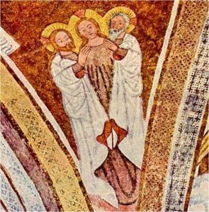 Bavarian Christian Fresco