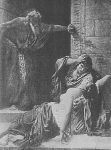 concubine in Judges 19