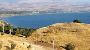 Sea of Galilee from Tiberias
